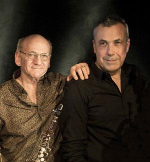 Dave Liebman & Jean-Marie Machado Photo: Cecil Mathieu