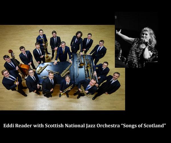 Eddi Reader with Scottish National Jazz Orchestra Dir Tommy Smith u201cSongs of Scotland u201d u2013 Ystad